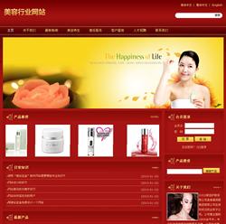 美容行业网站