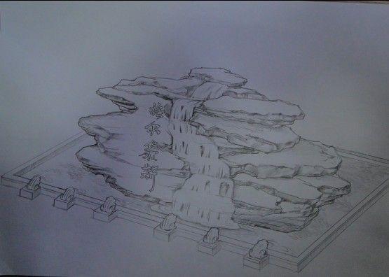 雕塑素描画步骤